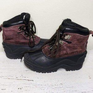 COLEMAN Thinsulate Maroon Glacier Pac Winter Boots